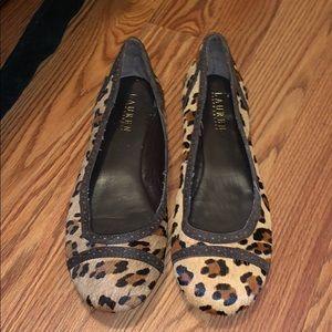Ralph Lauren Cheetah Flats